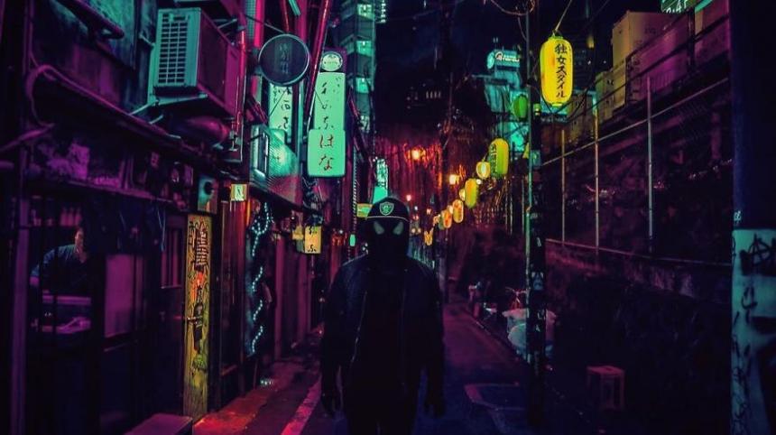 Liam Wong, Tokio,Shibuya