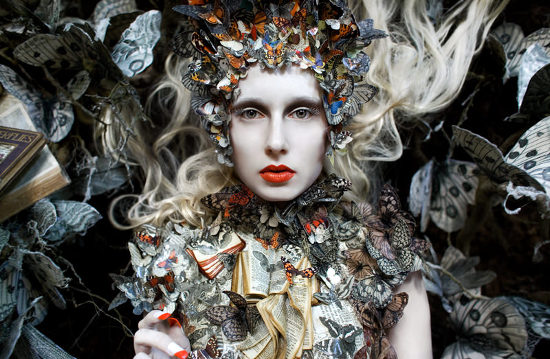 "kirsty mitchell, wonderland series, foto: ""the ghost swift"""