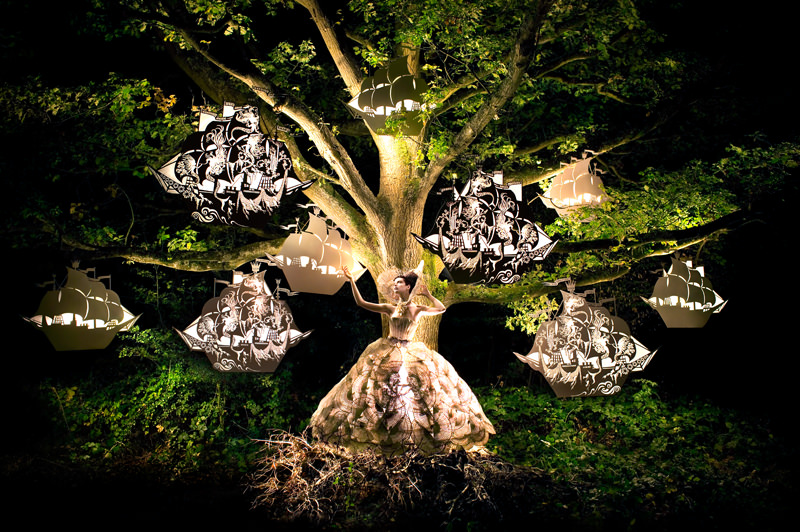 "kirsty mitchell, wonderland series, foto: ""the faraway tree"""