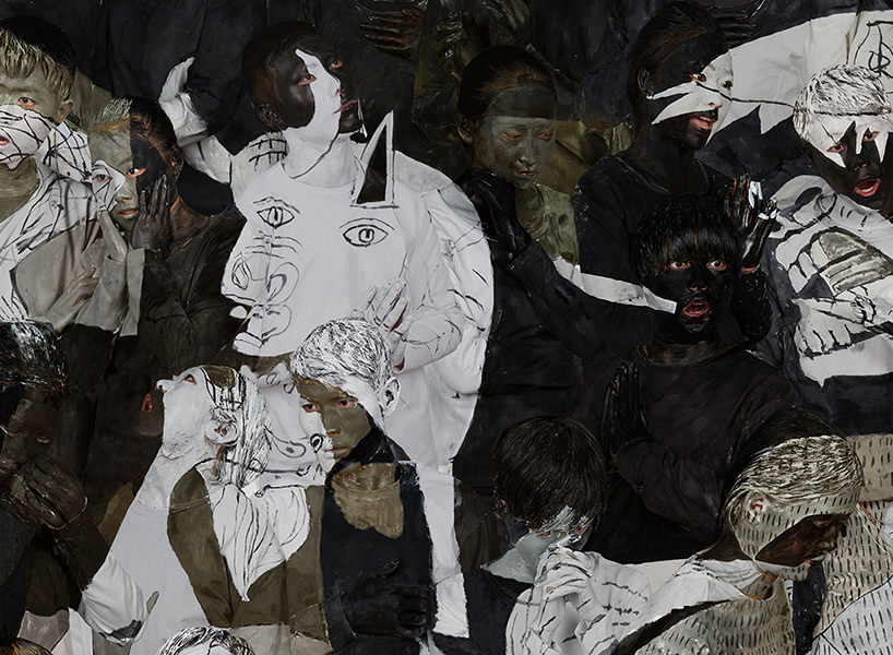 detail of guernica, 2016 | archival pigment print | 43 1/2 x 98 3/8 inches (110.6 x 250 cm) edition of 8 + 2APs image courtesy klein sun gallery, © liu bolin