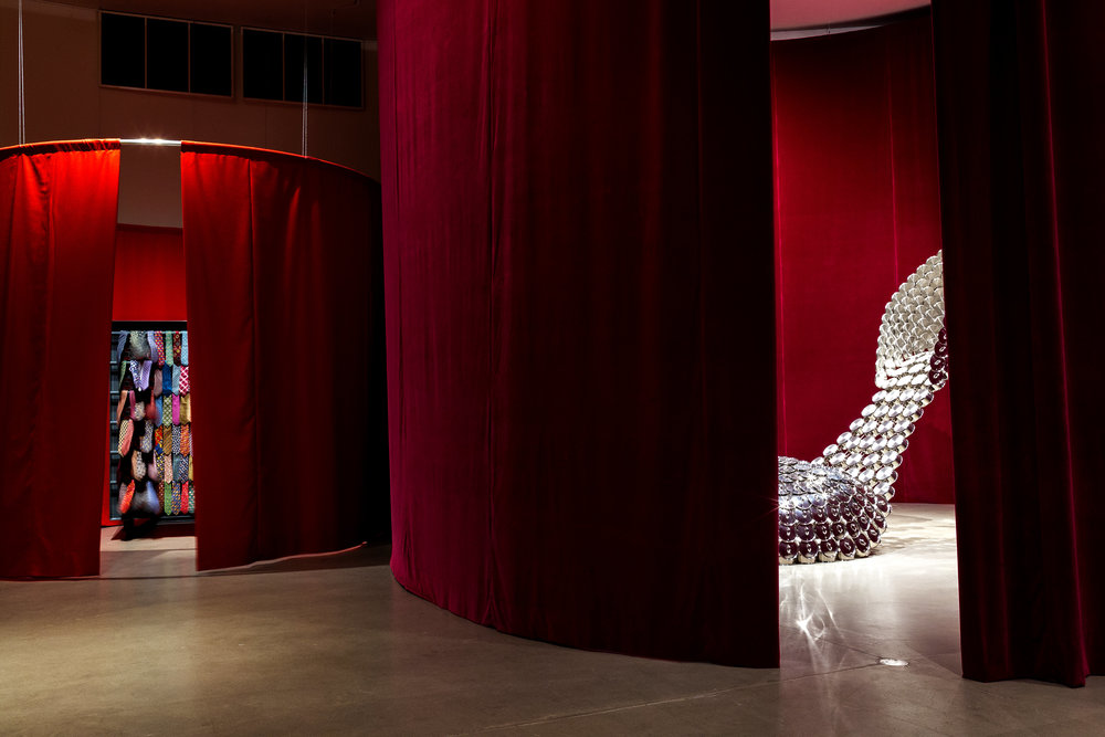 "Joana Vasconcelos, ""Textures of Life"" all' ARoS Museum of Art; Foto: Luís Vasconcelos; Courtesy Unidade Infinita Projectos"
