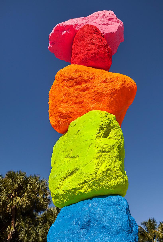 "ugo rondinone, ""miami mountain"" (particolare), image © zachary balber, courtesy of the bass, miami beach"