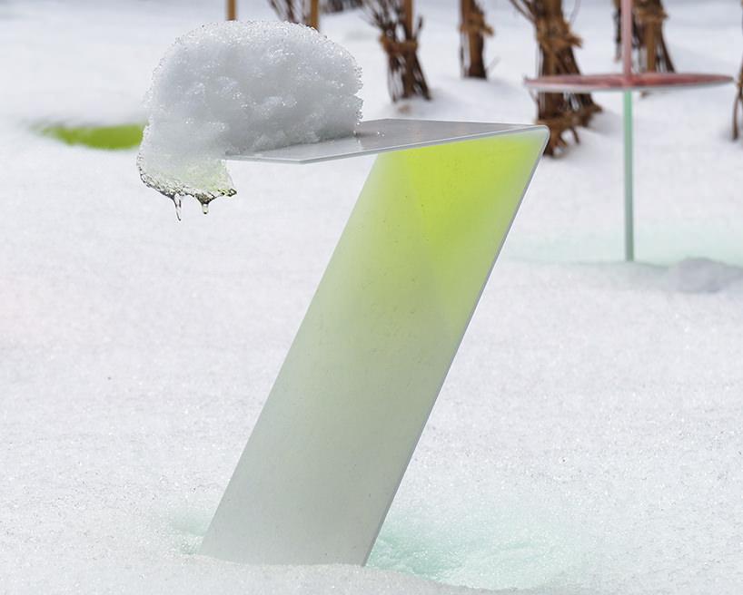 """Toshihiko Shibuya, installazione """"Snow Pallet 9"""", è una riflessione molto orientale sul paesaggio"""