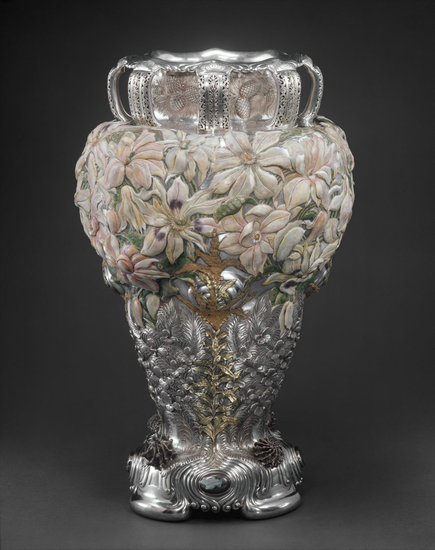 The Magnolia Vase, manufactured by Tiffany & Co., 1893