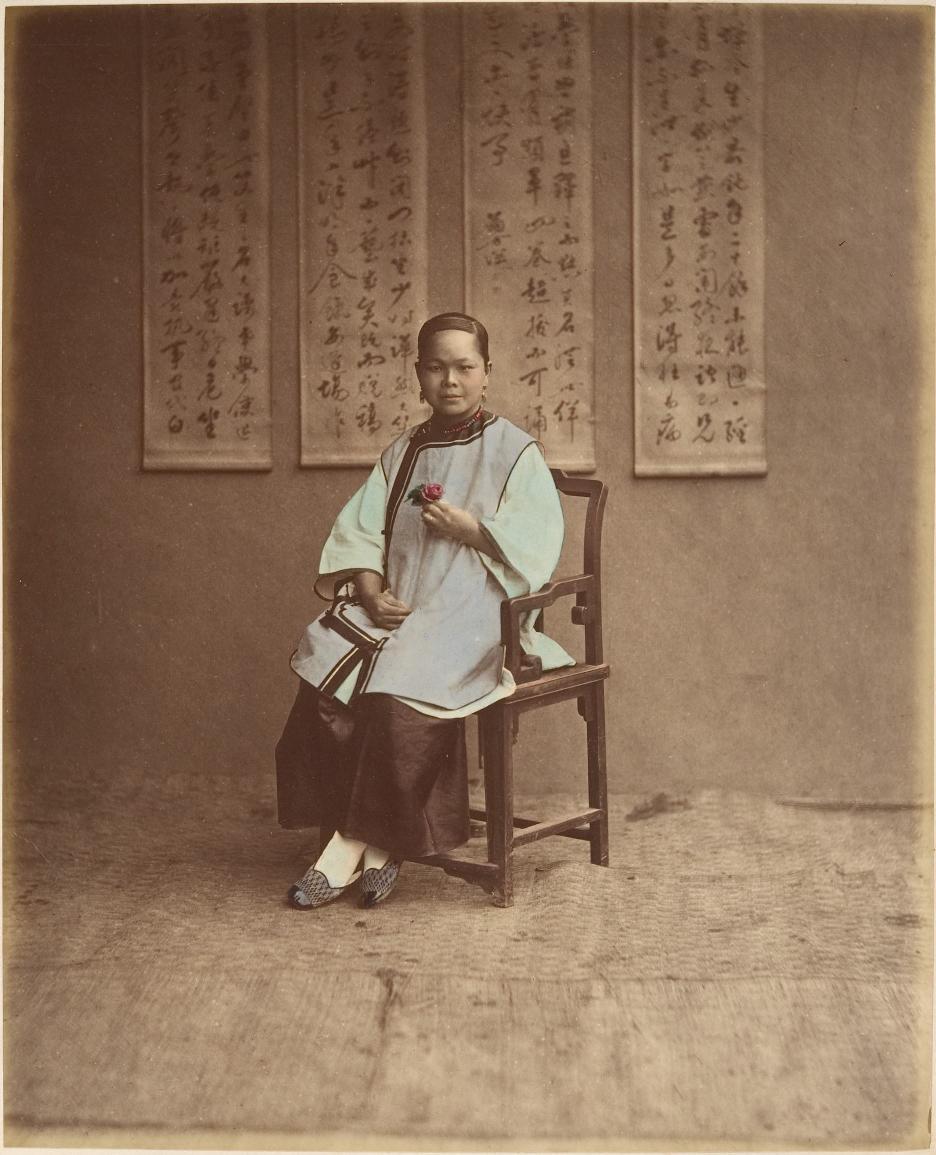 Raimund von Stillfried, Fille de Shanghai, 1870