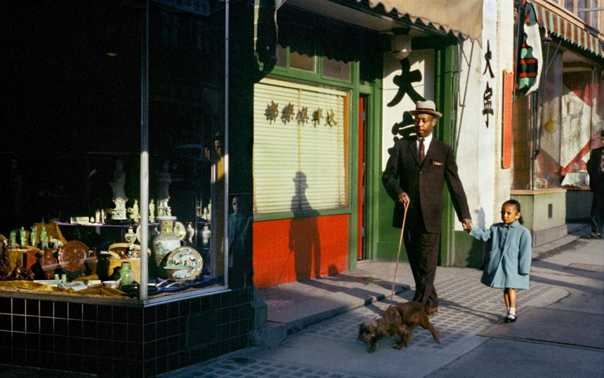 Black Man Pender, 1958 – © Fred Herzog