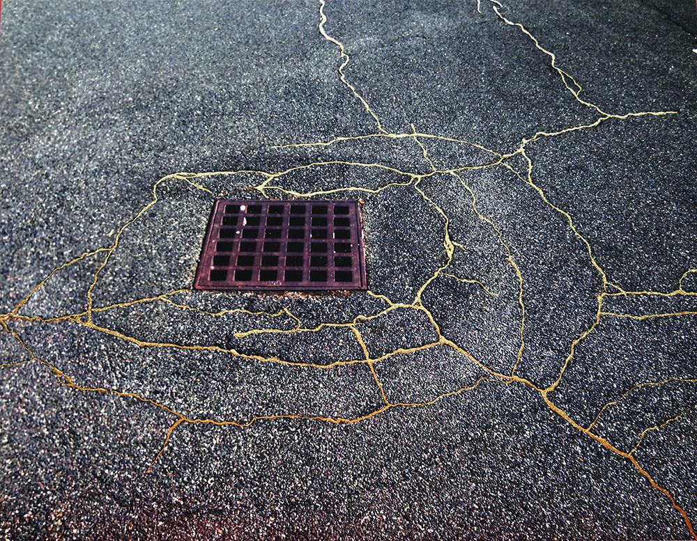 "Rachel Sussman, serie ""Sidewalk Kintsukuroi"""
