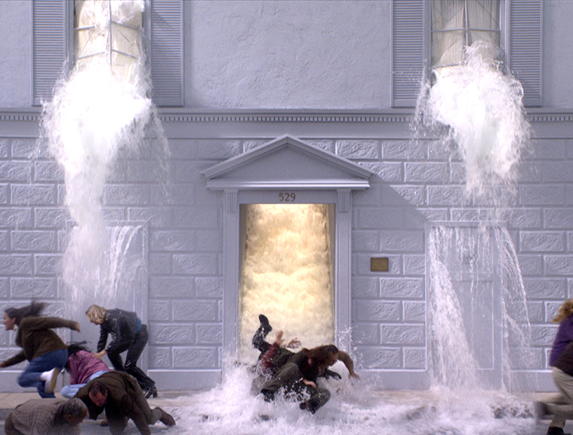 bill viola (new york 1951): the deluge (going forth by day), 2002 36' | color video projection with four channels of sound long beach, CA, bill viola studio