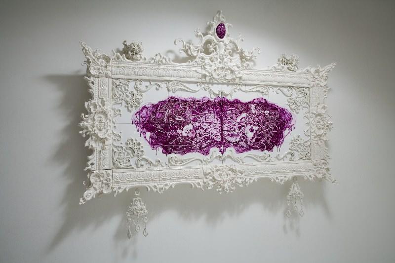 "Katsuyo Aoki, ""Maniera I"", 2009, porcellana"