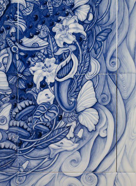 """""""Trolldom, 2015, porcellana (particolare)"""