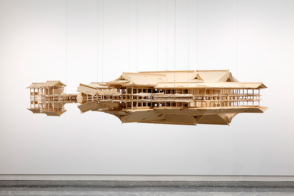 Reflection Model (Ship of Theseus), 2017, ©Takahiro Iwasaki, Courtesy of URANO photo by Keizo Kioku, photo courtesy of the Japan Foundation
