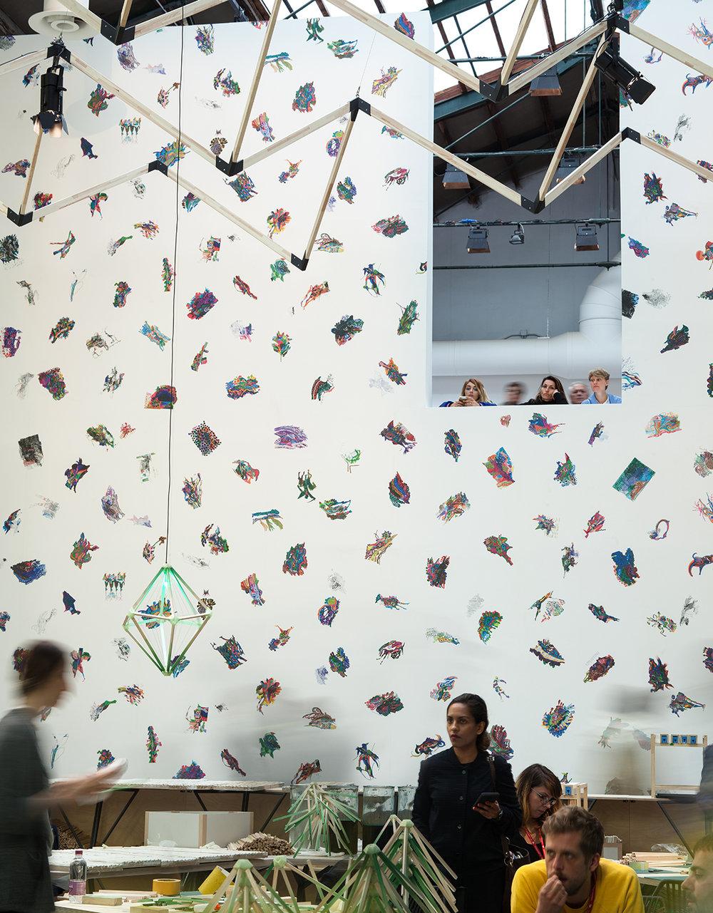 Edi Rama, 57. Esposizione Internazionale d'Arte - La Biennale di Venezia, Viva Arte Viva: photo: Francesco Galli; courtesy: La Biennale di Venezia