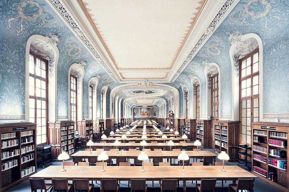 Bibliotheque de la Sorbonne, Salle Jacqueline de Romilly, Parigi