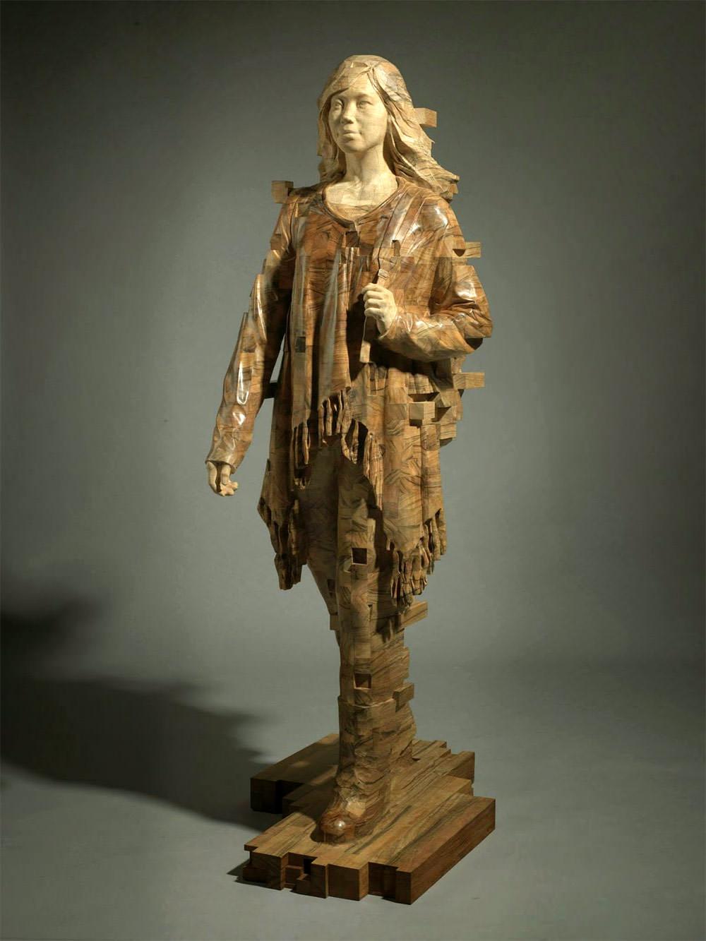 hsu-tung-han-sculture-iperrealiste-legno-con-pixel-01
