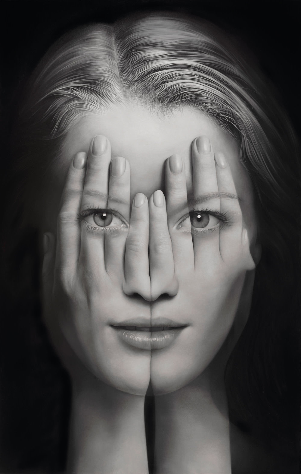 Tigran Tsitoghdzya, Mirror V, 2014, Olio su tela 190x127 cm. photo by  Tigran Tsitoghdzya