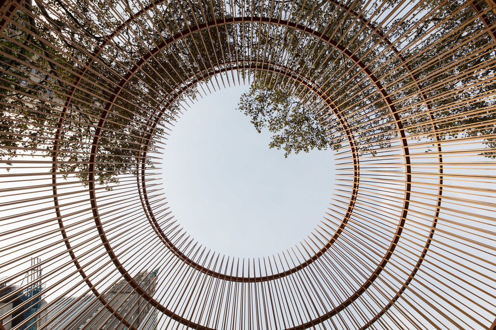 Ai Weiwei Gilded Cage, 2017 Mild steel paint Courtesy of Ai Weiwei Studio/ Frahm & Frahm Photo: Ai Weiwei Studio