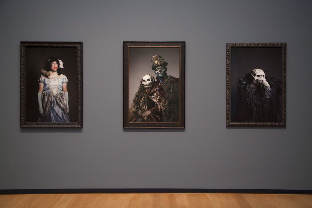 Installation view of Misty Keasler: Haunt at the Modern Art Museum of Fort Worth (courtesy the Modern Art Museum of Fort Worth)