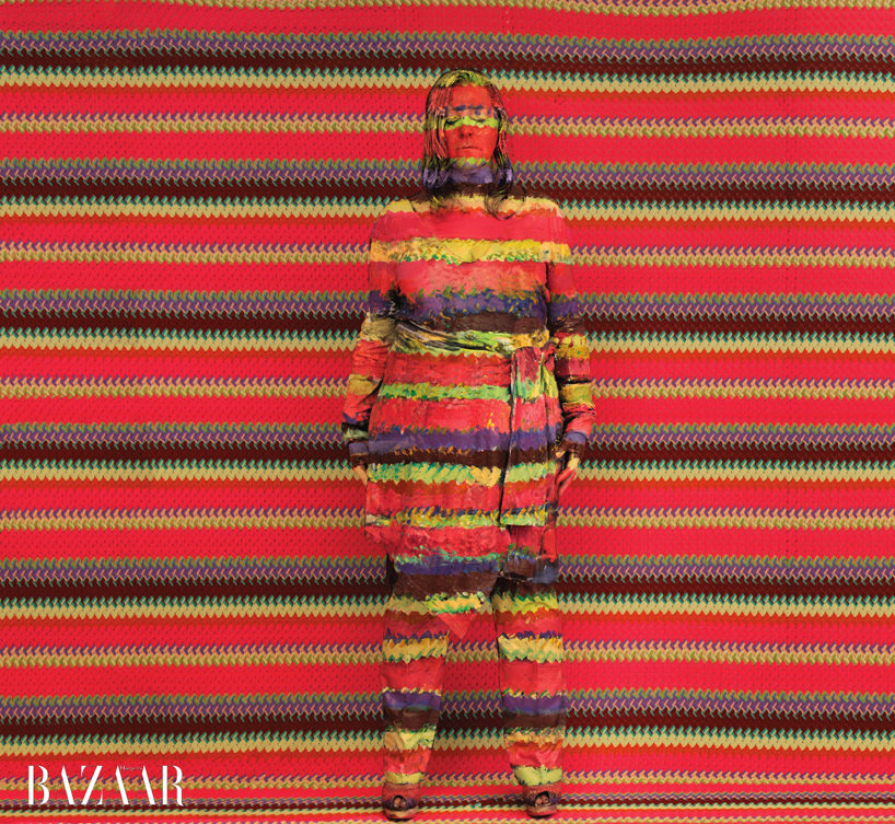 angela missoni  photo by liu bolin courtesy eli klein fine art