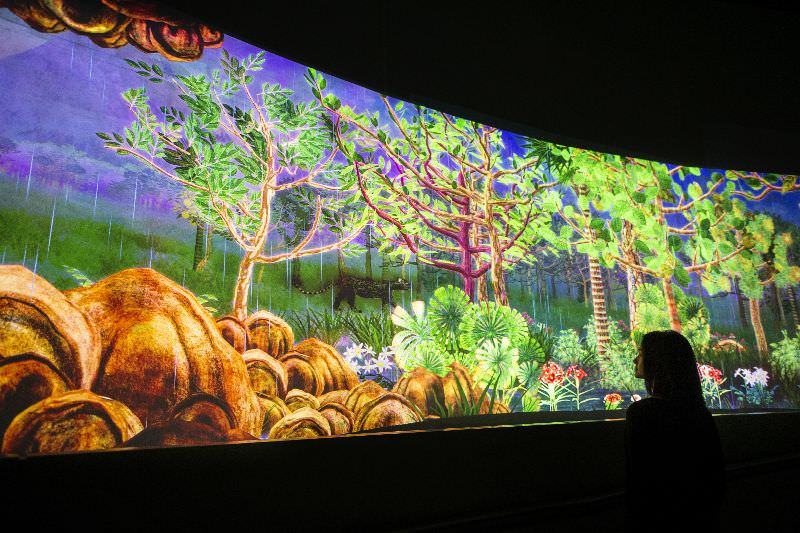 Teamlab, 'Story of the Forest', National Museum of Singapore