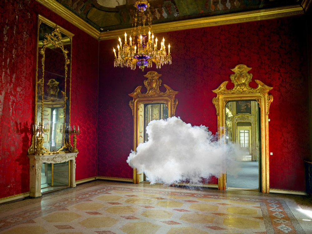 Berndnaut Smilde, Nimbus Litta, 2013, digital c-type print on aluminium, 75 x 100 cm, 125 x 166 cm, ed. of 6+2 ap. Courtesy the artist and Ronchini Gallery