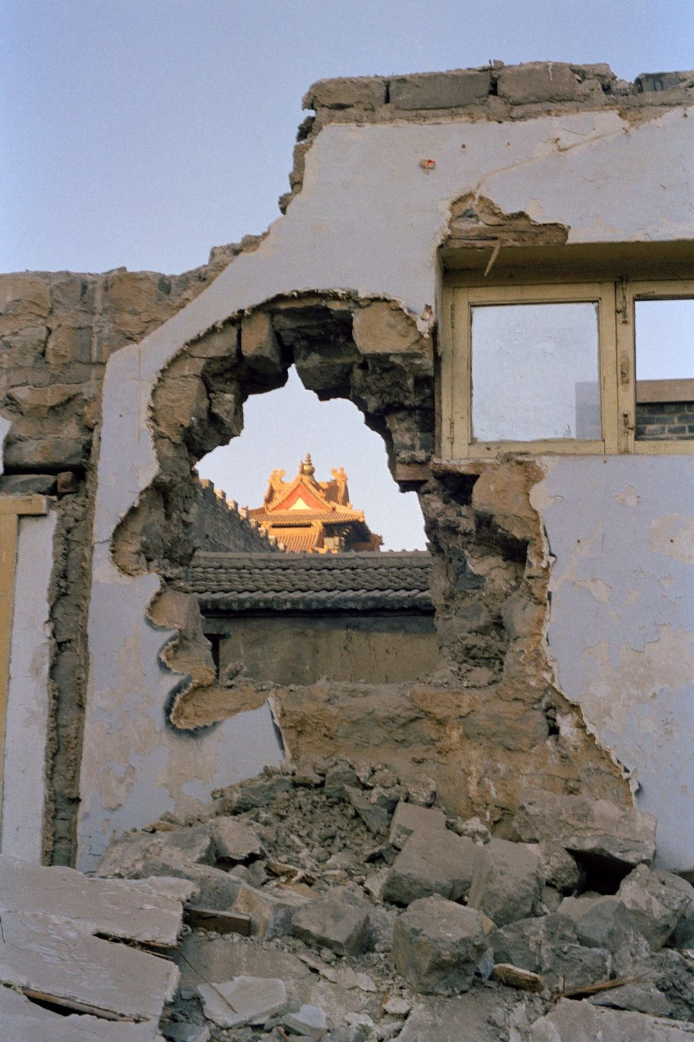 Zhang Dali, Dialogue and demolition; Demolition: Forbidden City