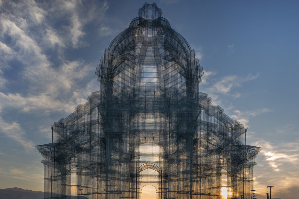 Edoardo Tresoldi, Etherea. All photos ® Roberto Conte