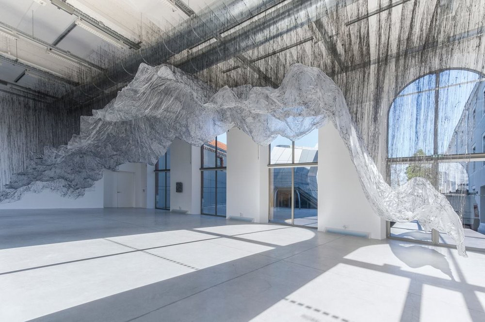 Onishi Yasuaki, 'Reverse of Volume FC', 2015 / glue, plastic sheet, other. RELIEF(S) / Frac Centre, Orleans France