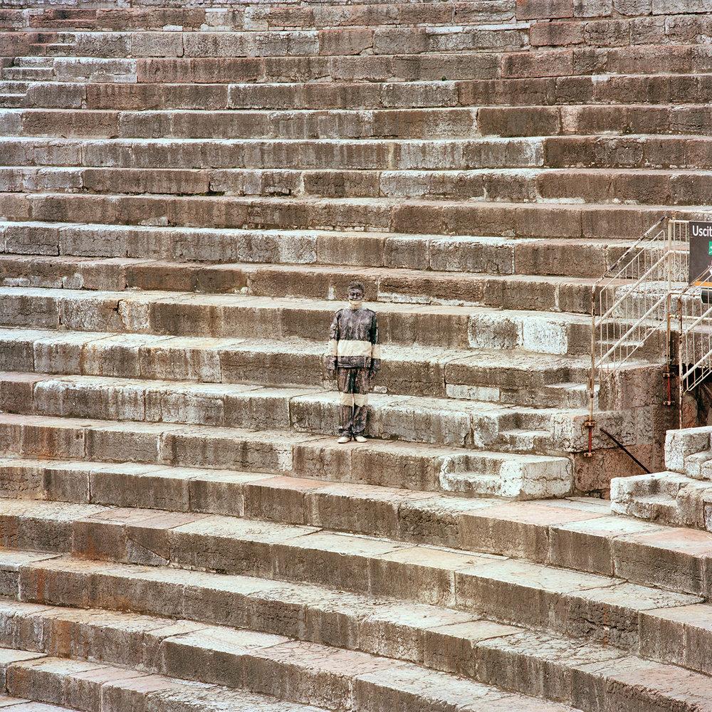 Liu Bolin, Arena di Verona, Courtesy Boxart Verona