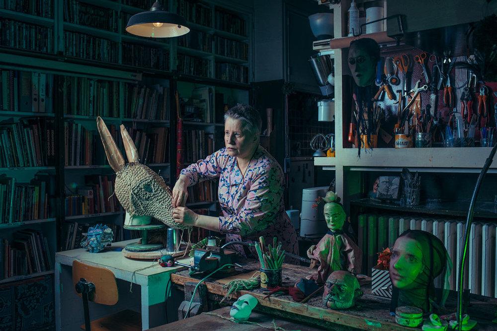 Franck Bohbot, Cecile Kretschmar, Mask Creator, Paris, France, 2018