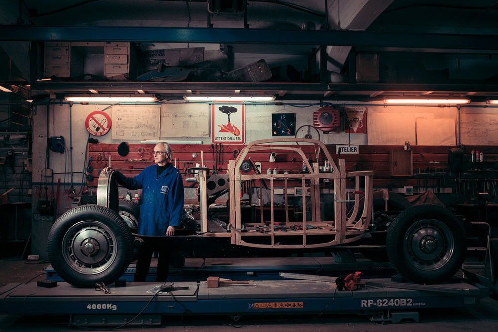 Hubert Haberbusch, Car-body maker, Strasbourg, France, 2018