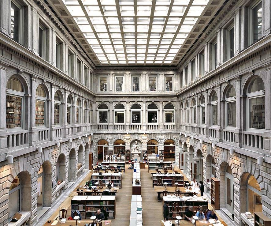 Biblioteca Marciana I, Venezia 2012, © MassimoListri