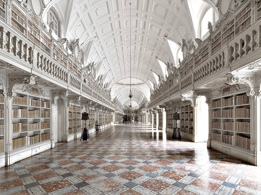 Biblioteca di Mafra II, Portogallo. © MassimoListri
