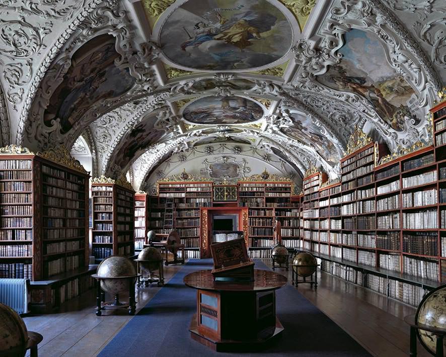 Biblioteca di Strahov II, Praga 2009. © MassimoListri