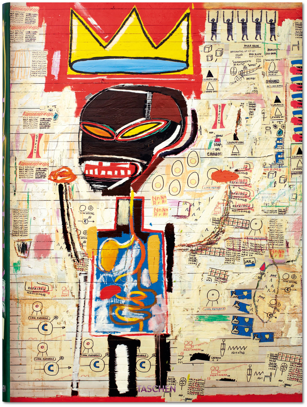 ean-Michel Basquiat, Hans Werner Holzwarth, Eleanor Nairne Hardcover, 29 x 39.5 cm, 500 pages US$ 200 | £ 150 | € 150, All images courtesy of TASCHEN