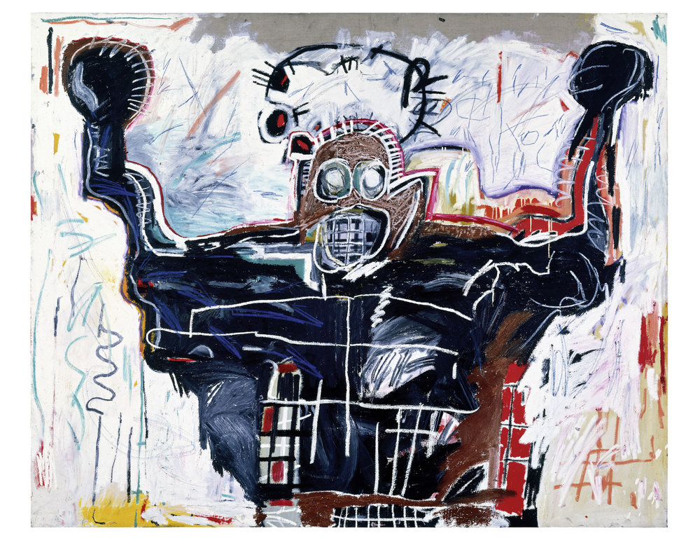 Untitled, 1982 Acrylic and oilstick on linen, 193 x 239 cm / 76 x 94 inches Photo: Courtesy Gagosian Copyright: © The Estate of Jean-Michel Basquiat. Licensed by Artestar, New York