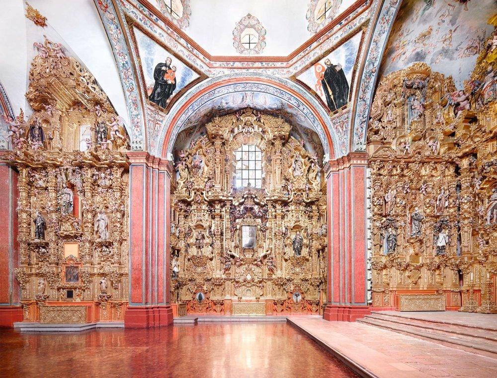 museo nazionale del virreinato tepotzotlán V, 2015 . tutte le immagini © candida höfer, colonia / VG bild-kunst, bonn | per gentile concessione di Sean Kelly, New York