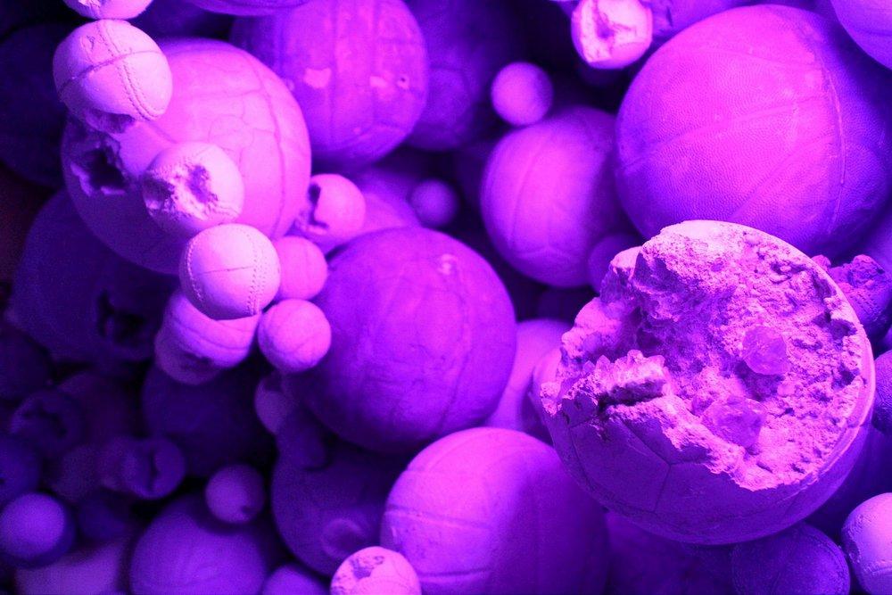 """Amethyst Ball Cavern"" (particolare)"