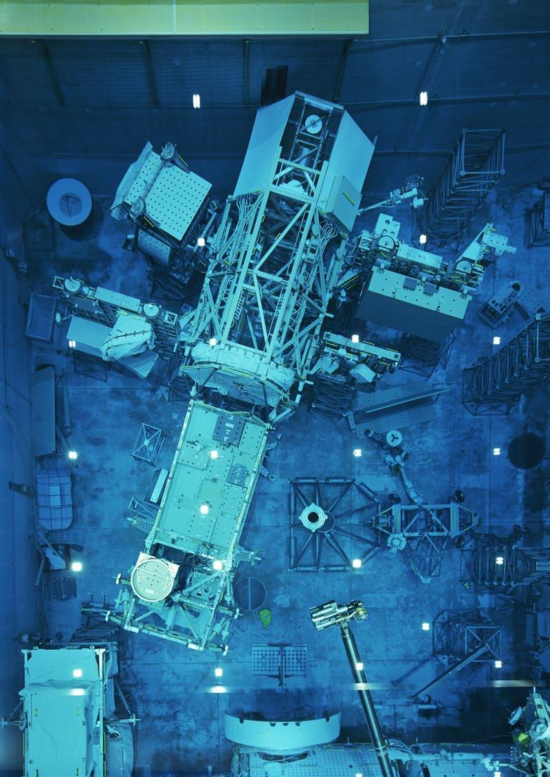 Thomas Struth Modello in dimensioni reali / Full-scale Mock-up 2, JSC, Houston, 2017 Inkjet print, 208,1 x 148,6 cm © Thomas Struth