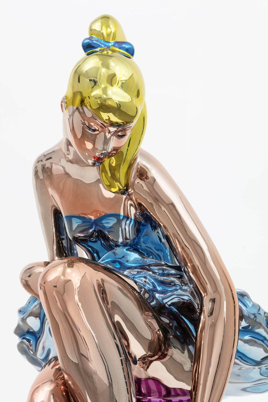 10a. Detail of Ballerina (c) Jeff Koons.jpg