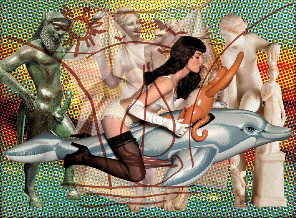Jeff Koons (b. 1955); Antiquity 2 (Dots); 2009–12; Oil on canvas; 259.1 x 350.5 cm; Collection of the artist © Jeff Koons