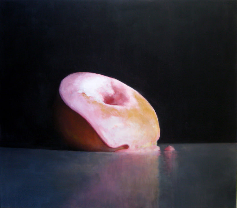 Emily Eveleth, Held, 2012, oil on canvas, 84 x 92 inches. Courtesy of the artist and Danese/Corey, New York
