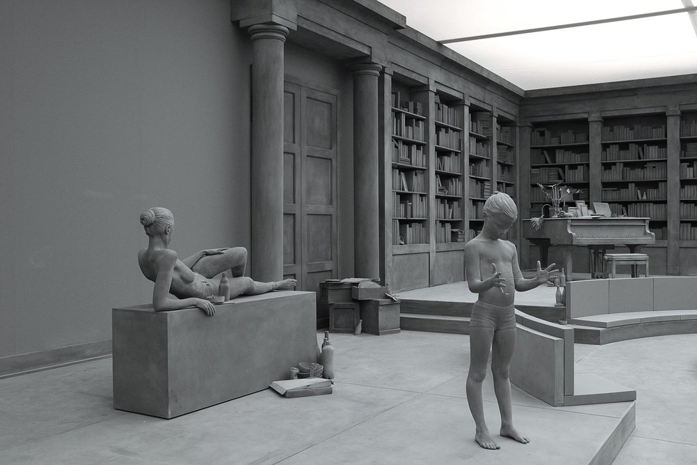 Hans Op de Beeck, The Collector's House, sculptural installation, 2016