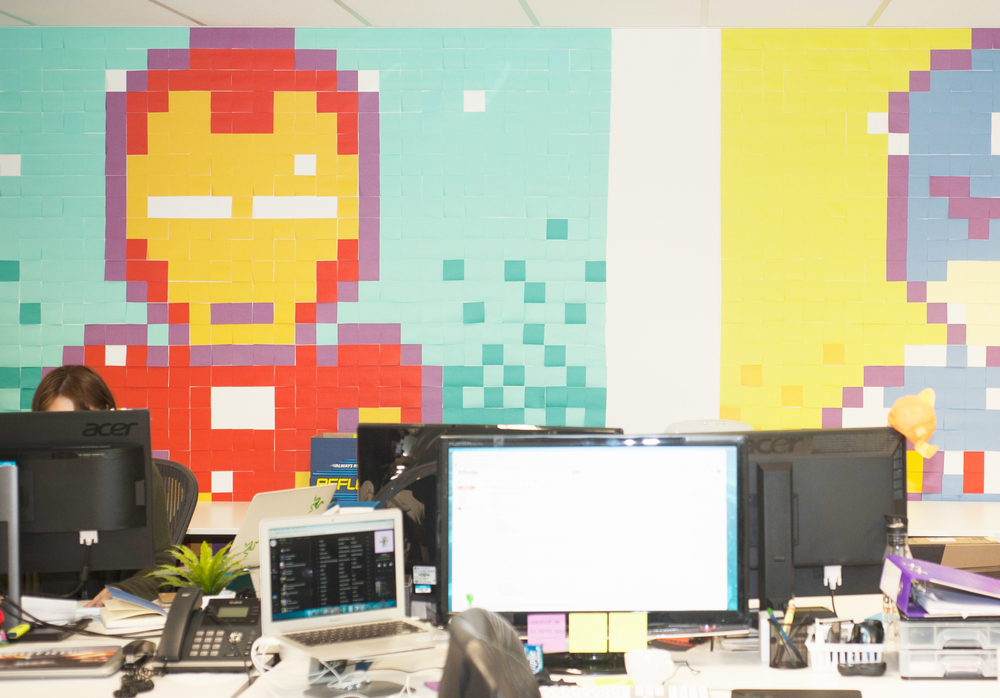 Finder Sydney, where the walls are never boring. Photo by Rachel Yabsley for The Dream Job.