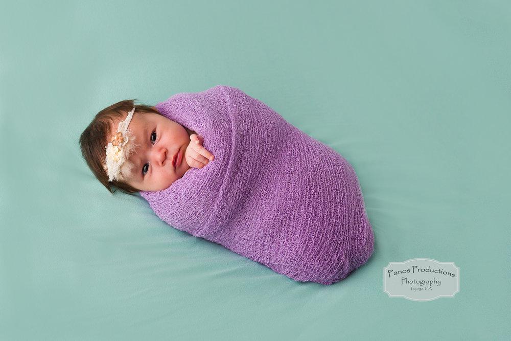 wrapped-newborn-girl-photo