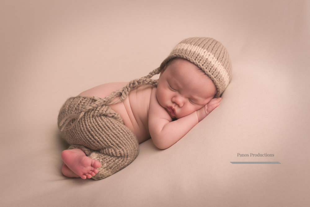 Newborn boy.