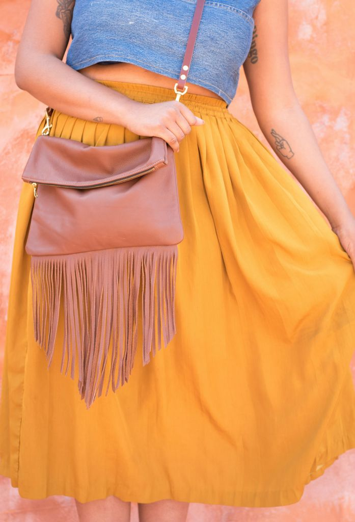 The Artemisia Fringe Bag