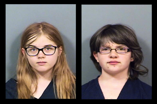 Anissa Weier and Morgan Geyser Booking Photo
