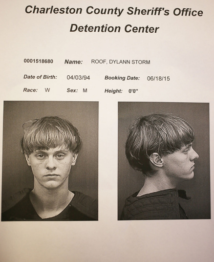21-year old Dylann Roof, suspect of the Charleston Church Massacre.   Image Source: Telegraph UK