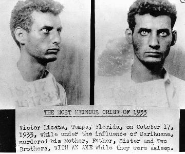 Booking photo of Victor Licata.