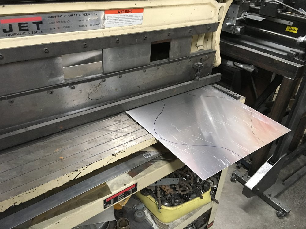 Where it all starts with a thin flat aluminum sheet.